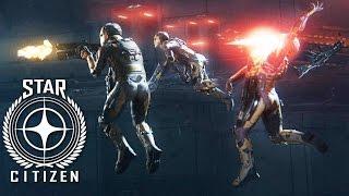 STAR MARINE: Zero Gravity Space Battle   Star Citizen 2.6 Gameplay