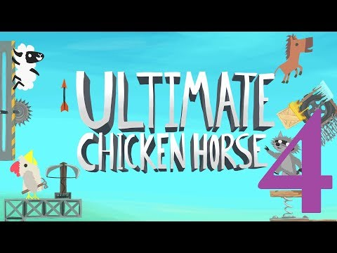 Ausgamia Bloodmatch: Ultimate Chicken Horse (Part 4 - It's a Trap)