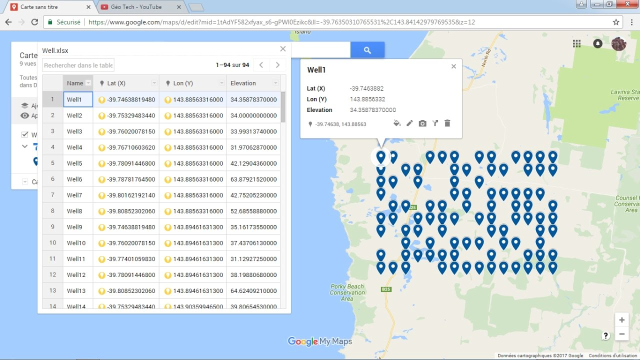 Adding And Visualizing Excel Data In Google Map