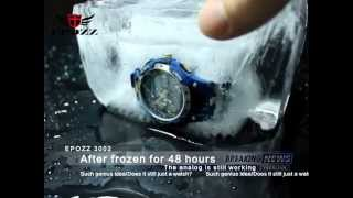 epozz watches 3002blue extreme quality testing