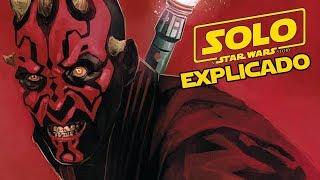 ¿Que hace Darth Maul en Solo? explicado - Star wars Han Solo