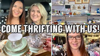 Shopping Vlog   Come Shopping With Me & Louise   Charity Shops   Thrifting   Norwich
