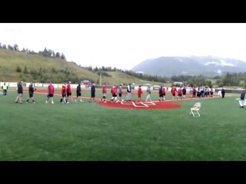 Beep Baseball Exhibition, Chugiak Chinooks vs. Seattle Sluggers (July 18, 2017)