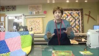 Pravítko na patchwork  Large Tumbler Template  video