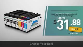 Best Ink for Printers in 2017- HP 950XL Black High Yield Original Ink Cartridge (CN045AN)