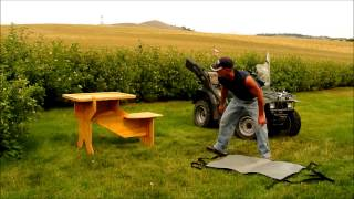 How To Assemble And Disassemble Your Sharpshooter Portable Shooting Bench