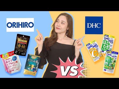 Review so sánh chân thực ORIHIRO vs DHC - Thực phẩm chức năng Nhật giá rẻ có tốt??