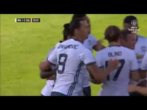 Zlatan Ibrahimovic Fantastic Goal HD MNU