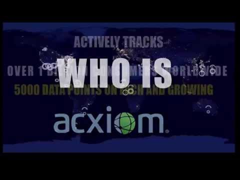 Data Broker Acxiom is the largest broker in the world