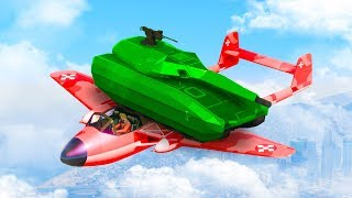 THE MOST OVERPOWERED JET TANK! (GTA 5 Funny Moments)