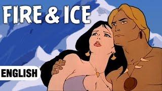 Fire & Ice Cartoon Animated Full Movie in English - English Animated Full Movies For Kids