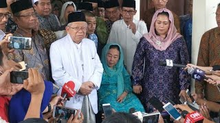 Download Video Ma'ruf Amin Bersilaturahim dengan Sinta Nuriyah Wahid MP3 3GP MP4