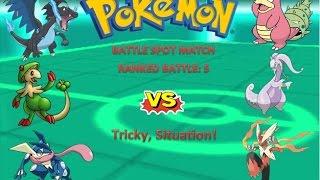 Pokémon ORAS Ranked Battle: 5 A Tricky Situation