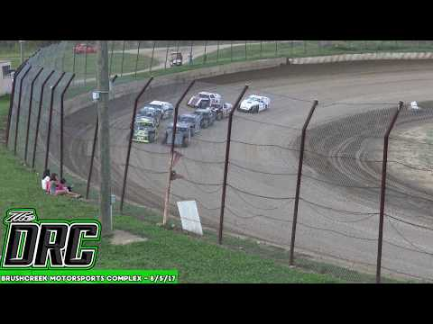 Brushcreek Motorsports Complex | 8/5/17 | Open Wheel Modifieds | Heats