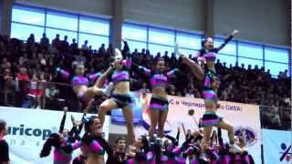 Shine Cheerleading team