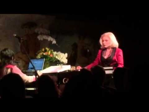 Debbie Harry Cafe Carlyle In Love with Love