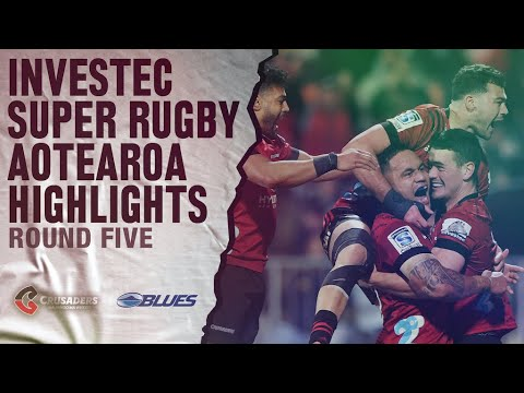 ROUND 5: Crusaders V Blues (Investec Super Rugby Aotearoa)