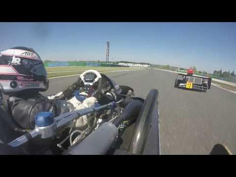 Championnat de France Superkart 250cc à Magny-Cours