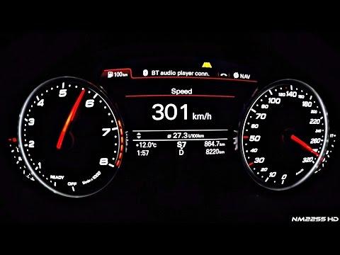 605HP Audi RS6 C7 Performance Launch Control 0-300km/h Acceleration