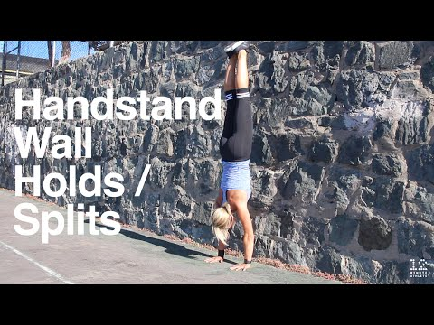 handstand wall splits/holds  youtube