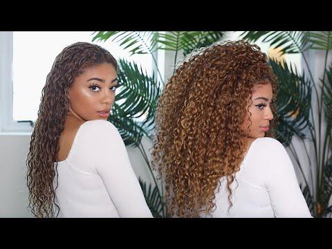 MY CURRENT CURLY HAIR ROUTINE! | jasmeannnn