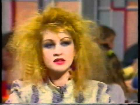 Cyndi Lauper interview UK TV '87