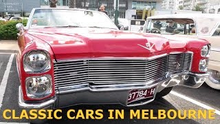 Classic Cars and Muscle Cars Show Port Melbourne Australia 2019