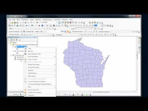 ArcMap - Table join