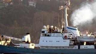 Russian spy ship sinks in Black Sea