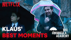 Klaus'  Best Moments | The Umbrella Academy