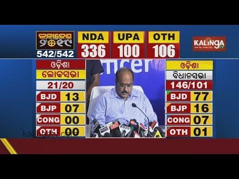Election 2019 Results: Chief Election Commissioner shares latest trend  Kalinga TV