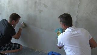 Imitace betonu - omítka pro vytvoření imitace litého pohledového betonu
