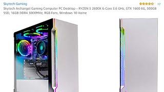 Skytech Archangel Gaming Computer PC Desktop BUILD OR BUY (GTX 1660,RYZEN 5 2600X)