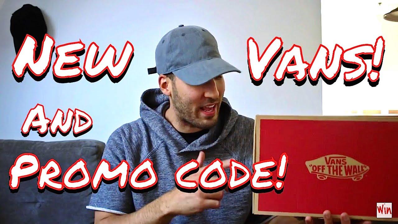 7263abbac5 NEW VANS SNEAKER PICKUP! DISCOUNT CODE & ON FEET!! - YouTube
