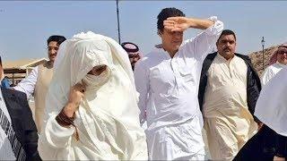 Imran Khan wife Bushra Bibi in Makkah for Umrah
