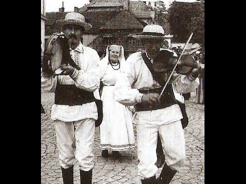 Polska muzyka ludowa Akordeoniści skrzypkowie bębniści Polish Folk Accordionists Violinists Drummers