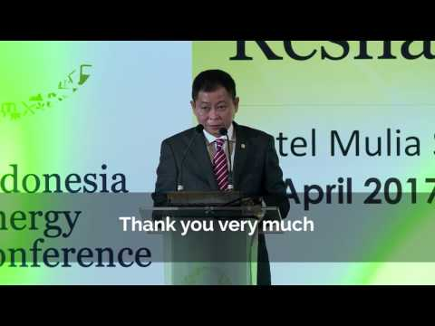 Indonesia Energy Conference - Ignasius Jonan