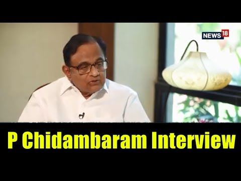 P Chidambaram Interview by Anuradha Sengupta