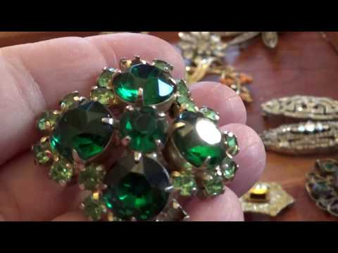 Vintage Jewelry Gemstone - Part 3