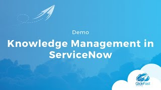 Knowledge Management in ServiceNow