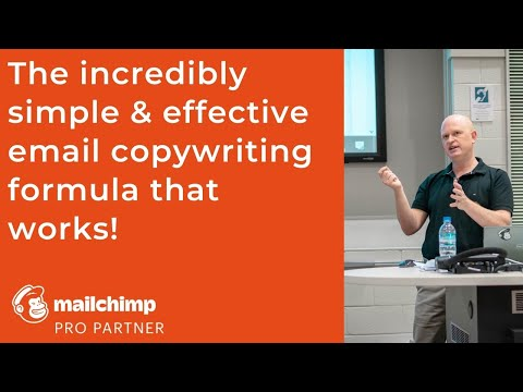 The Incredibly Simple and Effective Mailchimp Copywriting Formula That Works