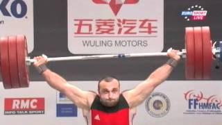 Мужчины 105кг  Рывок. ЧМ 2011. Тяжёлая атлетика