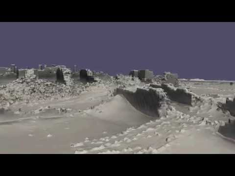 3D Walkthrough of Musawwarat es Sufra documented by the Zamani Project (University of Cape Town)
