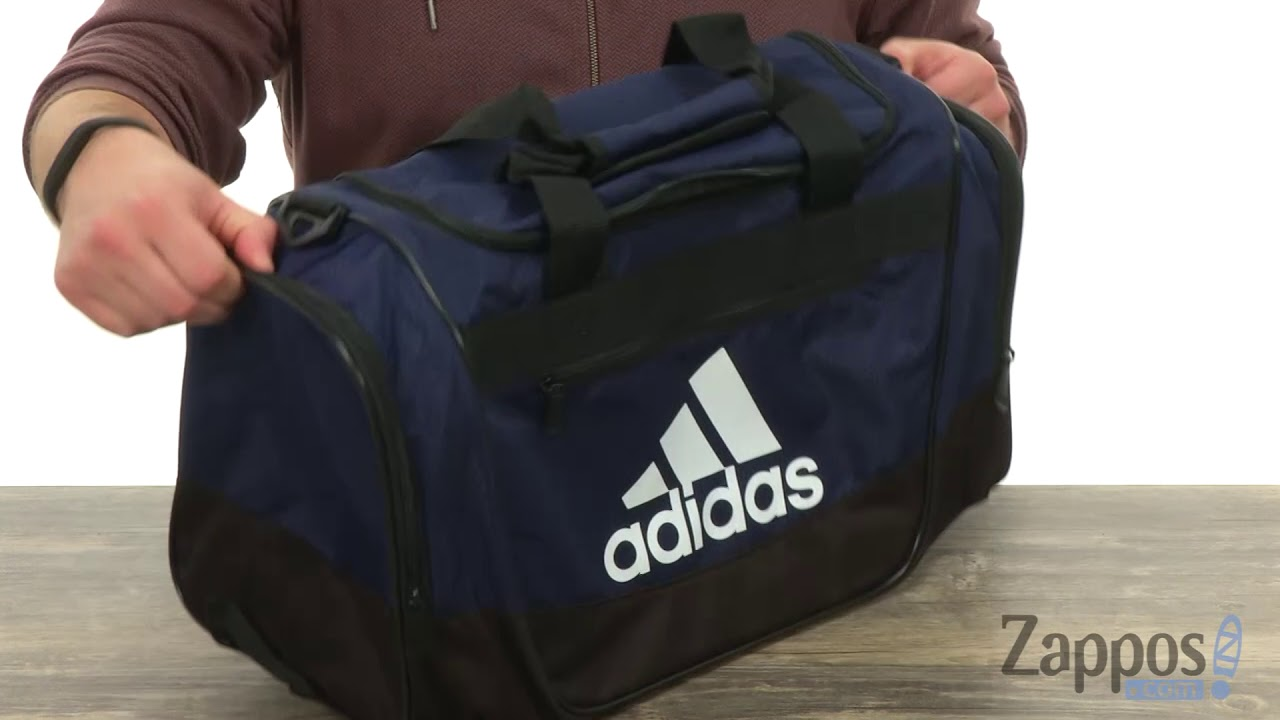 b4b6f73430 adidas Defender III Small Duffel SKU  8990639 - YouTube