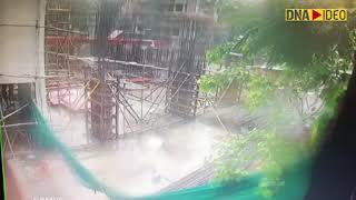 Another CCTV footage emerges of the chartered plane crash in Mumbai's Ghatkopar