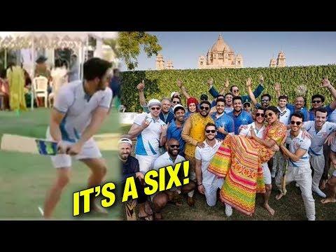 Priyanka Chopra VS Nick Jonas Cricket Match During Wedding At Umaid Bhawan Palace