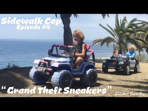 Sidewalk Cop - Episode 4 - Grand Theft Sneakers
