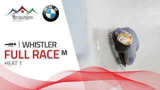 Whistler | BMW IBSF World Championships 2019 - Men's Skeleton Heat 1 | IBSF Official