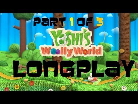 Nintendo Wii U Longplay [004] Yoshi's Woolly World (Part 1 of 3)