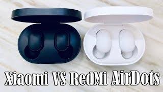 Xiaomi Airdots VS Redmi Airdots? II Comparison of 10 parameters